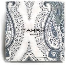buy tahari luxury boho style moroccan medallion fabric shower