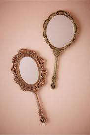 vanity mirror clips scalloped vanity mirror bronze in décor bhldn