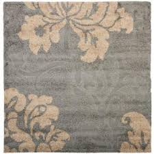 Beige And Gray Area Rugs Safavieh Florida Shag Gray Beige 8 Ft X 10 Ft Area Rug Sg458