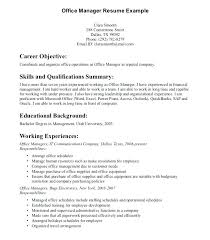 property manager resume manager resume objective exles operations manager resume