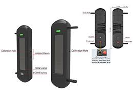 htzsafe solar wireless driveway alarm perimeter alert system diy  with  from azsecurityworldcom