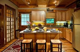 Cabin Kitchen Ideas Log Cabin Kitchens Home Design Ideas Pictures Remodel And Decor