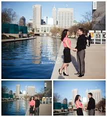 photographers indianapolis downtown indianapolis engagement photography session
