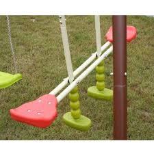 giardino bambini altalena da giardino 5 posti per bambini dondolo 3 giochi