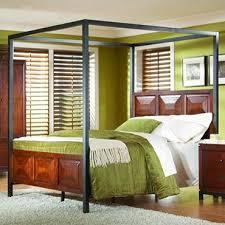 Modern Canopy Bed Best 25 Cheap Canopy Beds Ideas On Pinterest Curtain Rod Canopy