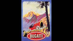 classic art deco car advertisements bugatti and delage french