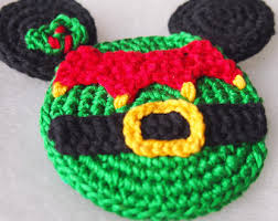 Minnie Mouse Christmas Decorations Christmas Ornament Mickey Mouse Minnie Mouse Crochet Pattern