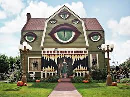 artist transforms parents u0027 home into the ultimate monster house