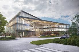 Building Designs The Oxford Science Park Submits New Speculative Office Building