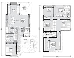 Two Storey Floor Plan Two Storey Home Builders Perth Pindan Homes