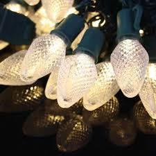 c7 warm white led light strings