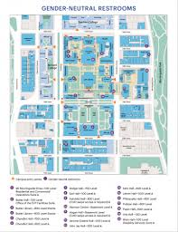 Gender Neutral Bathrooms On College Campuses Map Of Gender Neutral Restrooms At Morningside Campus Columbia