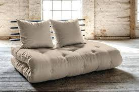 canap futon fly futon canape lit canapac lit noir shin sano matelas futon couchage