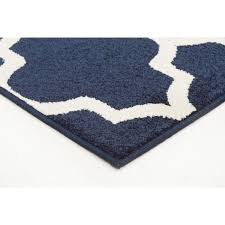 sancerre navy trellis indoor outdoor rug