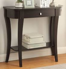 small half moon console table with drawer furniture small half moon console table with drawer bay shore