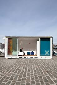 pop up shipping container hotel stylish belgian hotel