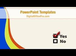 checkbox question powerpoint template backgrounds