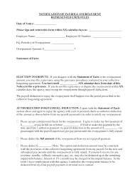 best photos of overpayment notification letter sample payroll