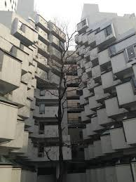 canap駸 le corbusier aoyama brutalism