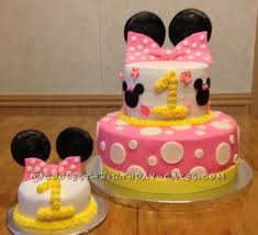 coolest minnie mouse 1st birthday cake minnie mouse birthday