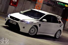ford focus st aftermarket ford focus st mk2 facelift white color front bumper from focus
