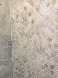 Glass Tiles For Kitchen by Beveled Clear Frosted Glass Combined With Natural Stone Makes An