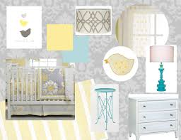 Yellow Gray Nursery Decor Grey Yellow Nursery Decor Neutral Nursery Ideas Stripes 100