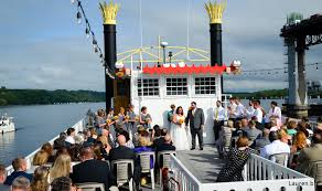 wedding on a boat weddings st croix boat packet