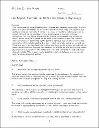 lab 12 reflexes and senses ap 1 lab 12 lab