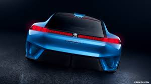 peugeot sport car 2017 2017 peugeot instinct concept rear hd wallpaper 53