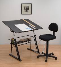 Small Drafting Table Studio Designs Zenith Drafting Table In Black 13340