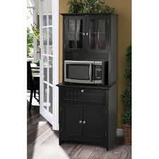kitchen storage cabinets with drawers kitchen storage cabinet microwave stand drawer organizer cupboard hutch black