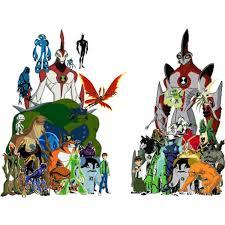 ben10 aliens polyvore