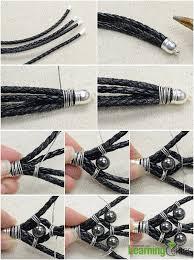 beaded leather cuff bracelet images Valentine tutorial on making leather cuff bracelet for your jpg