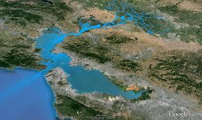 san francisco delta map san francisco bay model
