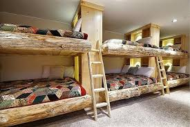 Cool Bunk Beds That Offer Us The Gift Of Style - Log bunk beds