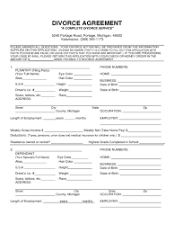 Michigan Power Of Attorney Form Free by Michigan Divorce Forms Free Templates In Pdf Word Excel To Print