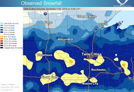 snowfall totals for december 16 17 2016 winter