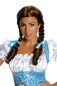 dorothy from wizard of oz costume rubies costumes 180153 wizard of oz deluxe dorothy wig