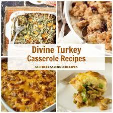14 recipes for the turkey casserole