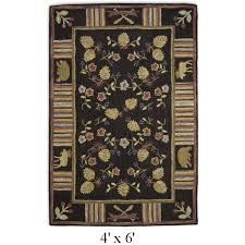 Moose Area Rugs Moose Area Rugs