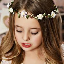 flower girl hair accessories aliexpress buy 1pcs flower garland princess