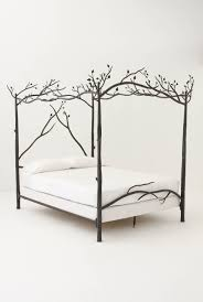 Tree Bed Frame Bedroom Design Unique Canopy Bed Frame With Tree Branch Design