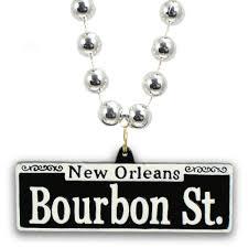 bourbon sign bourbon sign necklace mardigrasoutlet