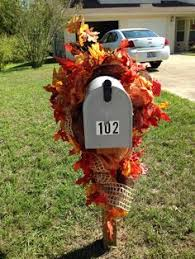 scarecrow mailbox topper mailbox swag or toppers