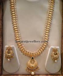 antique mango haram and nakhsi balls necklace indian jewelry