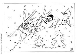coloring page snowman family happy snowman family coloring pages hellokids com