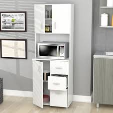 Storage Cabinet For Kitchen Laricina White Kitchen Storage Cabinet Free Shipping Today