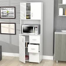 Storage Cabinet For Kitchen Laricina White Kitchen Storage Cabinet Free Shipping Today