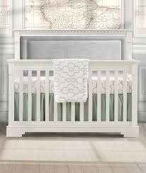 White Crib Convertible Natart Ithaca Collection 4 In 1 Convertible Crib In White With